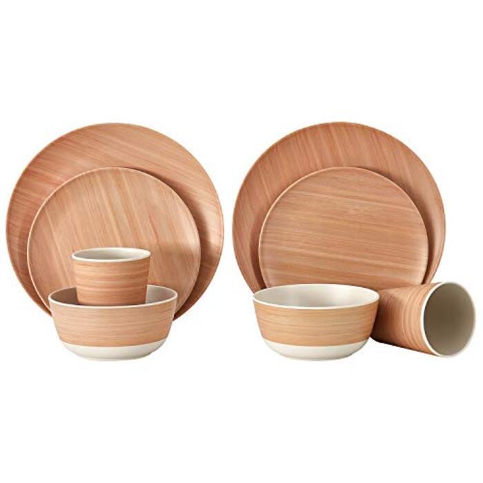 KingCamp 食器セット 竹製