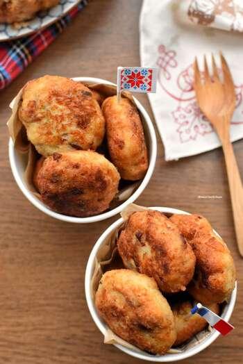 こちらは、揚げずにフィラいパンで焼いたナゲット風。さっぱりとした味わいで、スナック感覚で楽しめます。おつまみにもおすすめ。