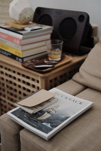 読みかけ雑誌をおしゃれに収納!インテリアになる「マガジンラック」12選