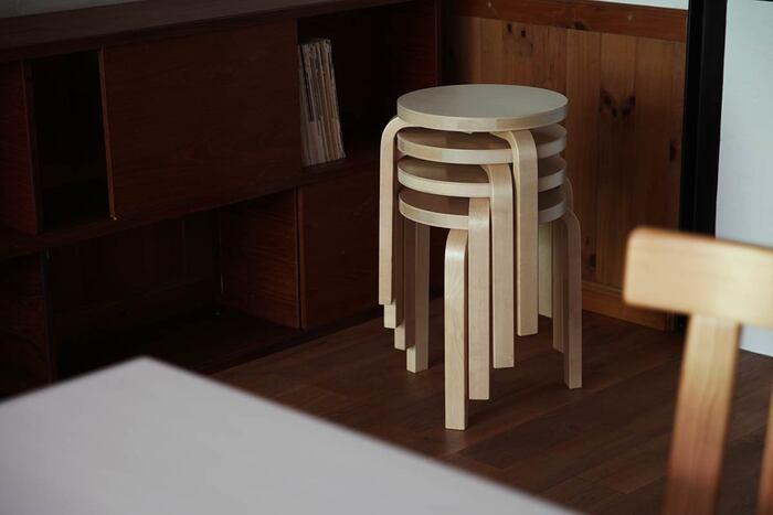 たくさんそろえても、スタッキング収納が可能なので、場所をとらずに収納できるのも嬉しいポイントです。また、流行に左右されることのない究極のシンプルなデザインは、和洋どんなインテリアにもうまく調和します。