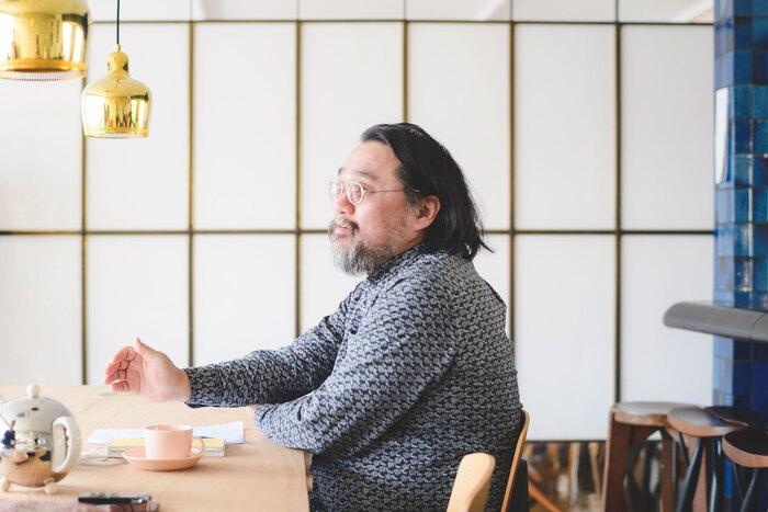 """""""シャチョウ""""こと代表・平井千里馬さん"""