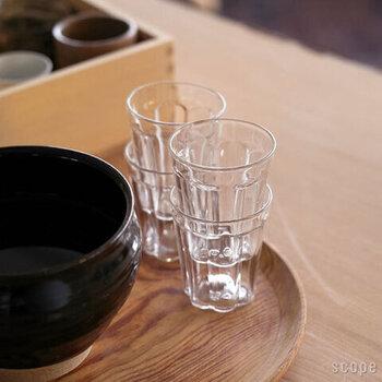 毎日の食卓に。ずっと愛せるシンプルな【グラス】おすすめ13選