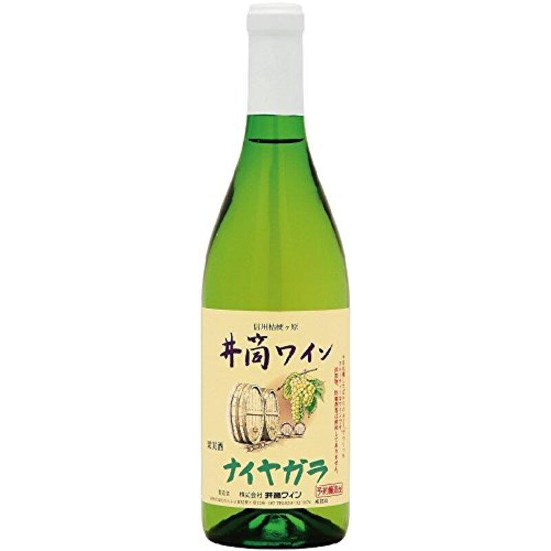 井筒ワイン 無添加ナイヤガラ [ 白ワイン 甘口 日本 720ml ]