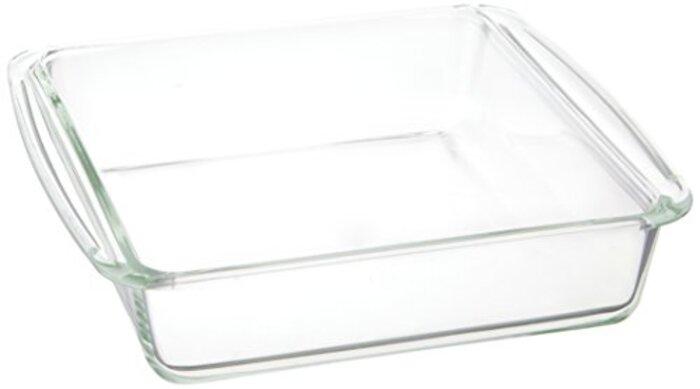 iwaki ベーシックシリーズ ケーキ焼き皿 角型