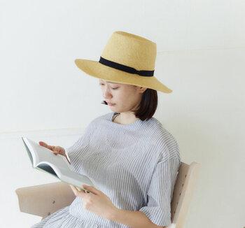 涼しげな見た目で日差しをシャットアウト!<タイプ別>夏の帽子カタログ