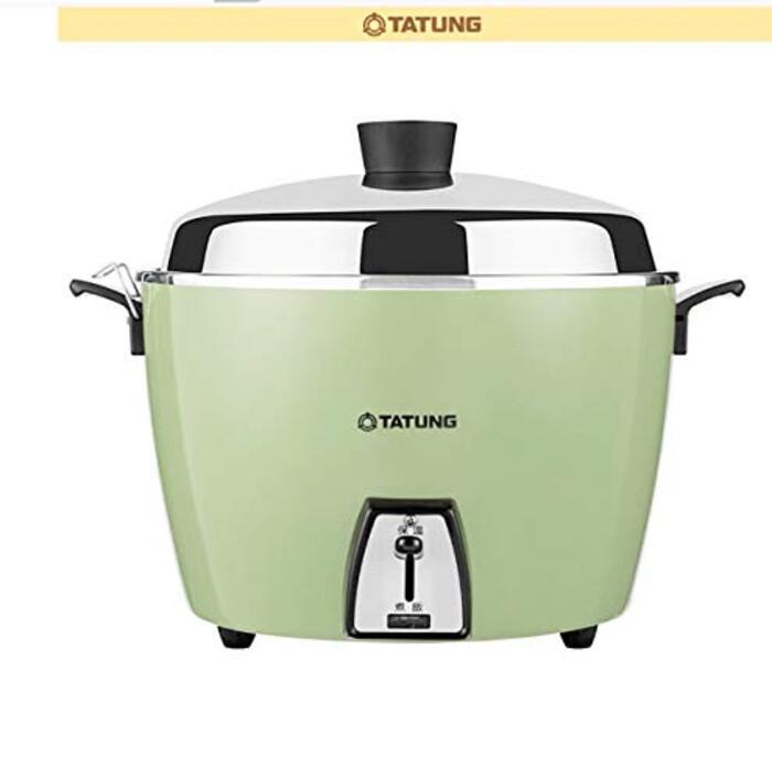大同電鍋ー大同電気釜(大同電鍋) 炊飯器 10合 ー緑カラー Lサイズ 【並行輸入品】