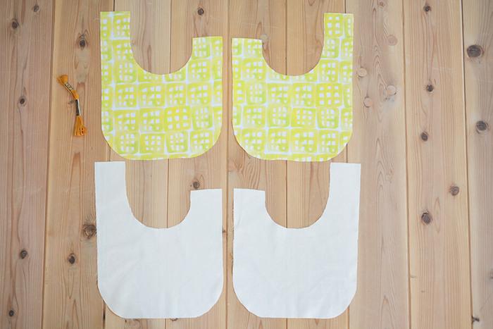 表地・裏地が二重になった袋物をつくる練習になります。「表・裏生地を縫い合わせる」タイプの立体マスクを作った方なら挑戦しやすいのでは?