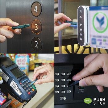 エレベーターや自販機、クレジットカードの暗証番号など…日常生活にあふれる「ボタン」の数々。プッシュの機会が頻発するからこそ、その都度消毒や手洗いするとなると…なかなか負担は大きいもの。  あらゆるボタンに直接触れずに済む、指代わりのこんなスティックは、「新しい生活様式の必需品」と言えるのかもしれません…!