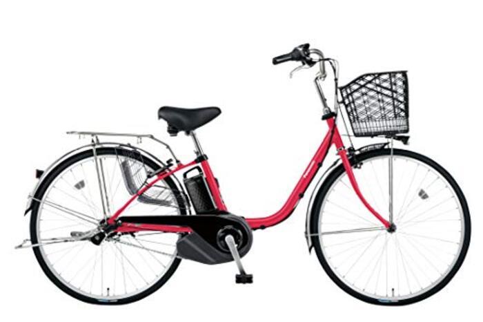 PANASONIC BE-ELSX632-R レッドジンジャー ビビ・SX 電動アシスト自転車 26インチ・内装3段