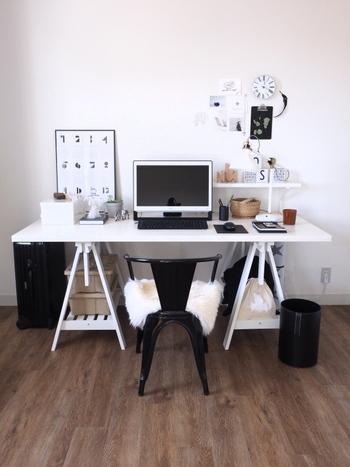 家事をしながらひと息つきたいならキッチンの近くに、趣味に没頭する時間が欲しいならLDKから少し離れた場所にマイスペースをつくるのもあり。