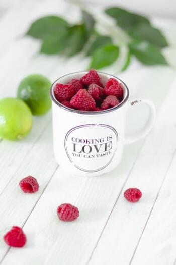 栄養たっぷりの真っ赤な果実「ラズベリー」の活用レシピ&育て方