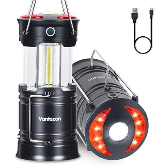 LEDランタン  usb充電式 電池式