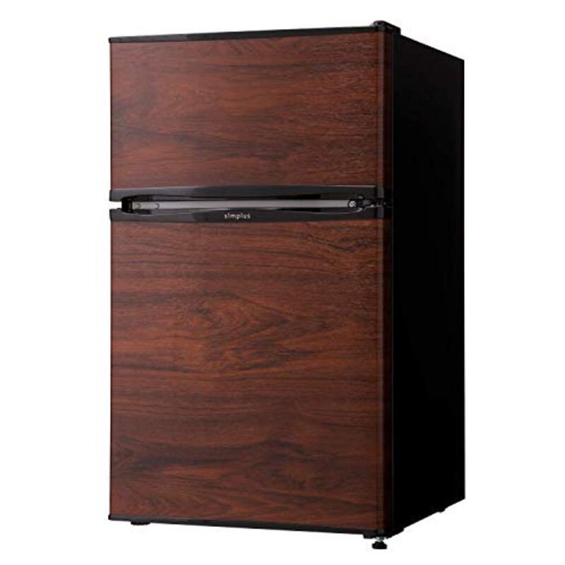 simplus(シンプラス) 2ドア冷蔵庫 90L SP-90L2-WD