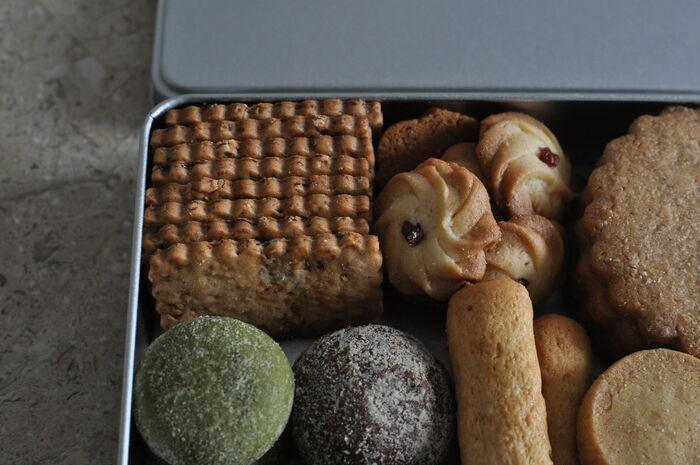 3時のおやつにいかが?おいしさがギュっとつまった【クッキー缶】をお取り寄せ