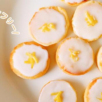 米粉を使用したグルテンフリーのレシピです。またトースターで焼き上げるのでオーブンを使うレシピより手軽に作れ、子どもと一緒に作るときもおすすめ。バターと砂糖をしっかりと混ぜ合わせることや、焼く直前まで生地を冷たく保つなど、ポイントをしっかりと守れば、トースターでも本格的なクッキーを作ることができますよ。
