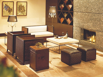 開放的でリラックスできることが大きな特徴で、南国の高級リゾートホテルのように洗練された雰囲気も併せ持っています。天然素材を多く使ったアジアンテイストのお部屋は通気性が良く、見た目にも涼しいため夏にぴったり!