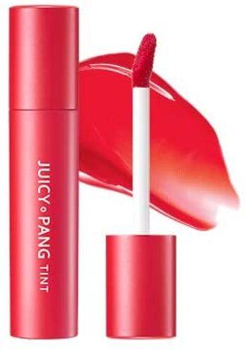 シンプルでありながらもキュートなカラーがポイントのAPIEU(オピュ)の「ジューシーパン スパークリングティント(RD01)」。ティントタイプのグロウリップは、血色系の唇に仕上がり、じんわりと広がるツヤ感リップが作れます♪