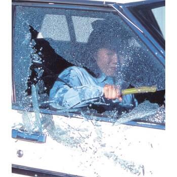 豪雨や事故などの非常時にドアが開かなくなったときに窓ガラスを叩いて割れば、車から逃げることができます。運転席の足元にセットできるホルダーが付いているため、いつ起こるか分からない非常事態のために車に備えておくと安心です。