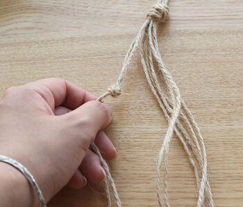 """編んで、結んでDIYを楽しもう!70年代流行した""""マクラメ""""が再ブームの予感♪"""