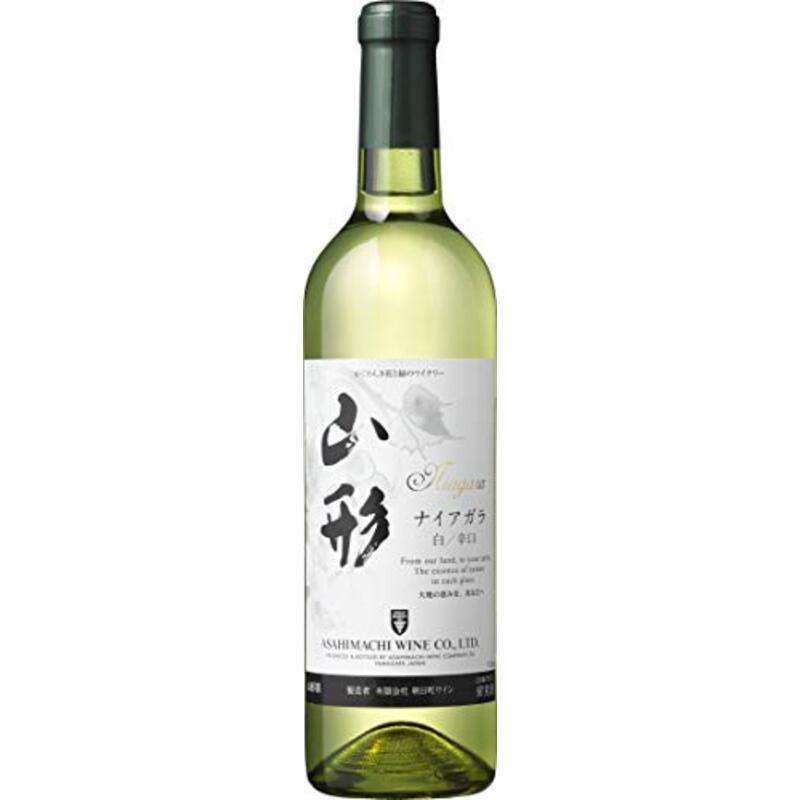 朝日町ワイン 山形ナイアガラ [ 白ワイン 辛口 720ml ]