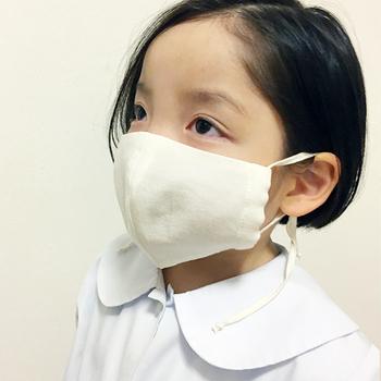 子供用サイズもあるので、親子お揃いで使うのもおすすめ。たくさん動き回って汗をかいても、しっかり吸い取ってくれますよ。お子さんのデリケートな肌を守ってくれます。