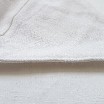 繊維の毛羽立ちでチクチクすることなく、肌を優しく守ってくれます。和紙ならではの使い心地をお試しください♪