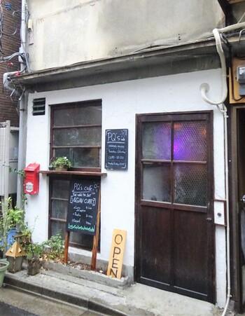 女子心をくすぐるカラフルなカレーが注目を集めているのは、こちらの古民家ヴィーガンカフェ「PQ's」です。お店は浅草駅から徒歩約13分、奥浅草と呼ばれる下町感たっぷりのエリアにひっそりとあります。