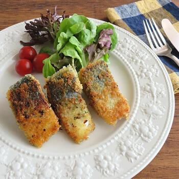 フライパンひとつでできるから簡単。健康にいいサバ料理を、ちょっとアレンジしたいときにおすすめ。ハーブの香り高く、おしゃれな味です。