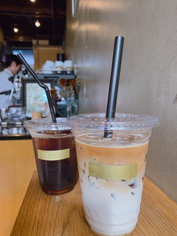 イタリア・フィレンツェのエスプレッソメーカー「La Marzocco(ラ・マルゾッコ)」で抽出するコーヒーは香りと苦みのバランスが絶妙。コーヒーの種類が豊富なので、お好みの味わいを探してみてはいかがでしょうか?ミルクたっぷりのラテにコーヒーゼリーが入ったデザート感覚のドリンクもおすすめですよ。