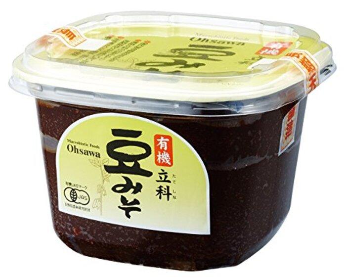 オーサワジャパン 有機立科豆みそ (カップ)  750g