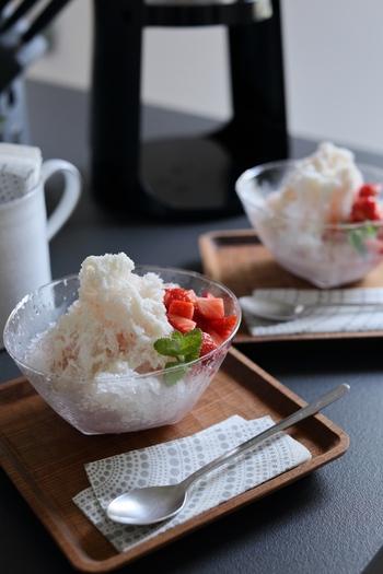冷凍フルーツやジャムを活用!お家で楽しめる「かき氷シロップ」簡単レシピ集