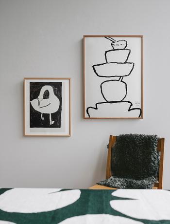 「どこに飾るか」「何と組み合わせて飾るか」をイメージするのも、失敗を減らす重要なポイント。手持ちの雑貨やお部屋全体の雰囲気に合うかどうかを、一度冷静になって考えてみましょう。
