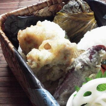 醤油麹の旨味成分はなんと塩麹の10倍!一晩漬け込むとお肉が柔らかく、しっかりと味が染み込みます。山椒のピリッとした刺激とマヨネーズのまろやかさが良い感じにマッチし、大人の天ぷらの出来上がり。