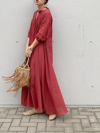 今買って、秋まで着られる。色で先取りする【秋色】おしゃれ