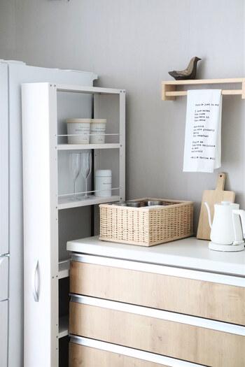限られたスペースにすっきりストック。「食品」のかしこい収納アイデア