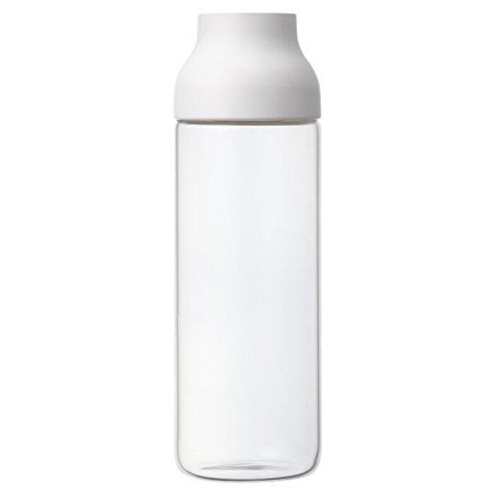 KINTO (キントー) ピッチャー・冷水筒 CAPSULE ウォーターカラフェ 1L ホワイト 22971
