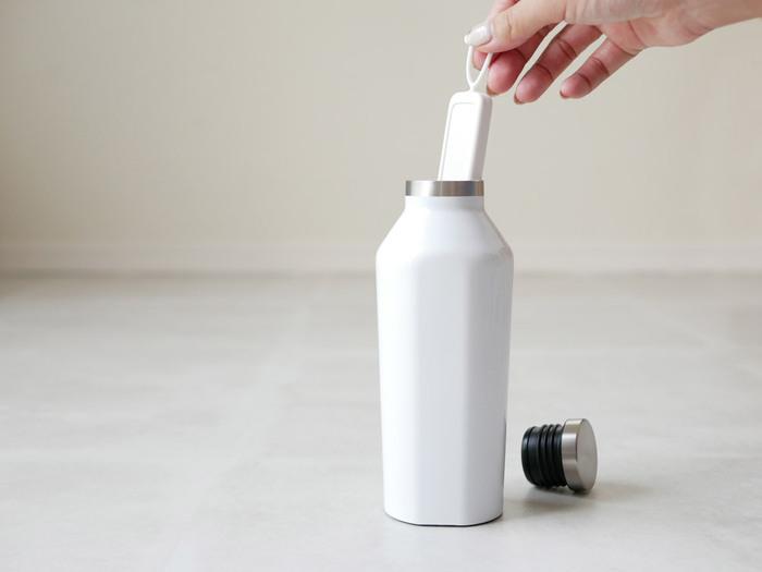 シンプルなデザインで、乾かして繰り返し使えるのもポイントです。