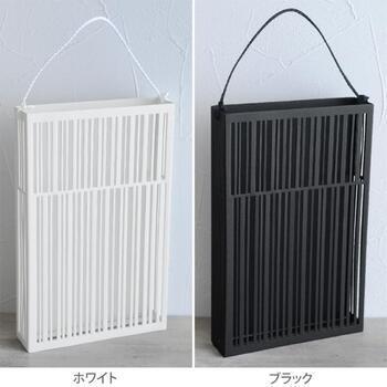 カラーは、白と黒の2色あるので、おうちのインテリアに合わせて選んでみませんか?