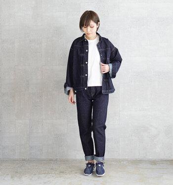 ジーンズは着れば着るほど自分の体になじみ、味がでてくるアイテム。経年によりできる擦れや色落ちのダメージも楽しめますよね。しっかり自分に合うジーンズを見つけることで、まさに一生モノとして着用し続けることができるでしょう。