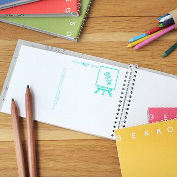 黒一色だと、メリハリがないので、色鉛筆やマーカーも利用しましょう。カラフルになりすぎると、ノートを見返したとき見にくいので、タイトルや押さえたいポイントなど、強調したい部分に色を使うのが◎。