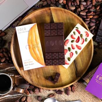 しかも、本当に優れた「美味しさ」と「高品質」のチョコレートが受賞する国際的なチョコレートコンクールである「International Chocolate Awards」で2017年から3年連続で入賞しています。そんな、品質も美味しさも世界的に評価されているチョコレートが定期便で毎月、3枚ずつ届きます。