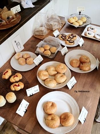 季節によってパンの種類も変わるので、季節の味をお楽しみいただけますよ。今日はどんなパンがあるのかな〜と、心躍らせながらご自身のお気に入りを見つけてみませんか?