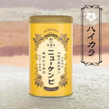 大阪・中崎町の昔ながらの商店街にある焼き芋屋さん「蜜香屋(みっこうや)」が作ったいもケンピ。レトロ感あふれるパッケージに、食べる前からワクワクしますね。
