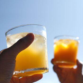 温州みかんのほどよい酸味と甘みがぎゅっと詰まったジュース。安心の国産の原料を使用しているから、お子さんにも安心して飲ませられますね。