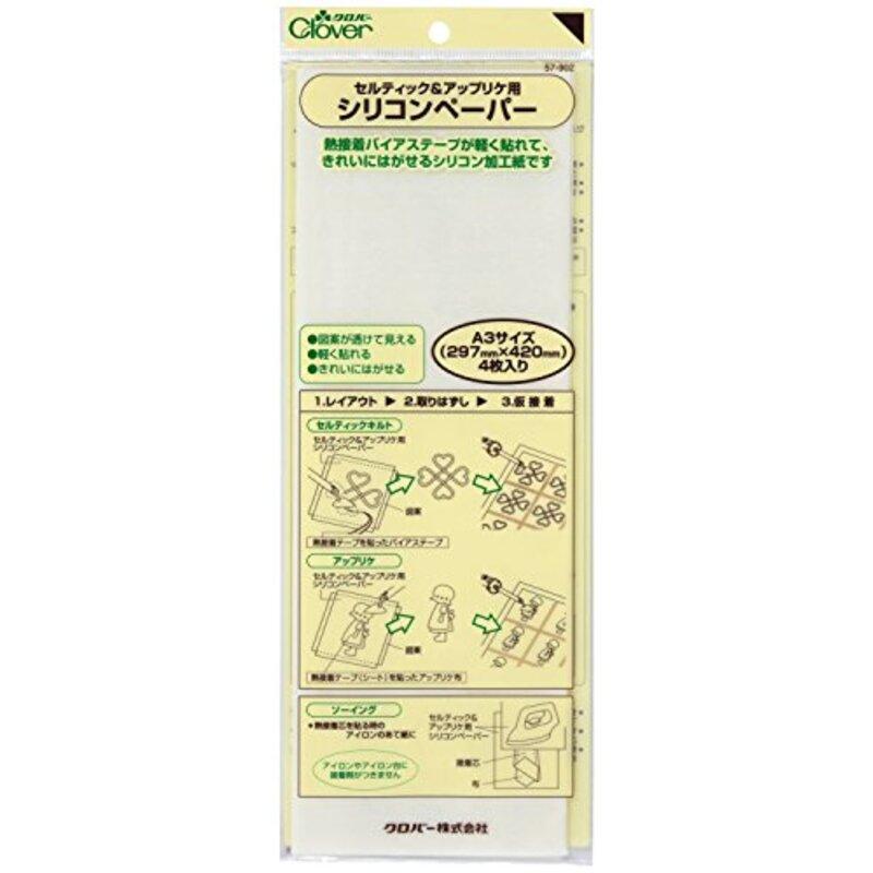 Clover セルティック&アップリケ用シリコンペーパー