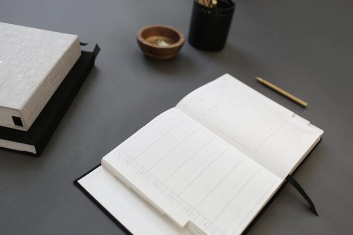 日記のように長い文章を書こうと意識すると、疲れてしまいます。振り返りは、1日1言、もしくは3行程度でOK。もちろん、文章を書くのが好きな方や、毎日しっかり振り返りをしたい方は、長文でもOKです。