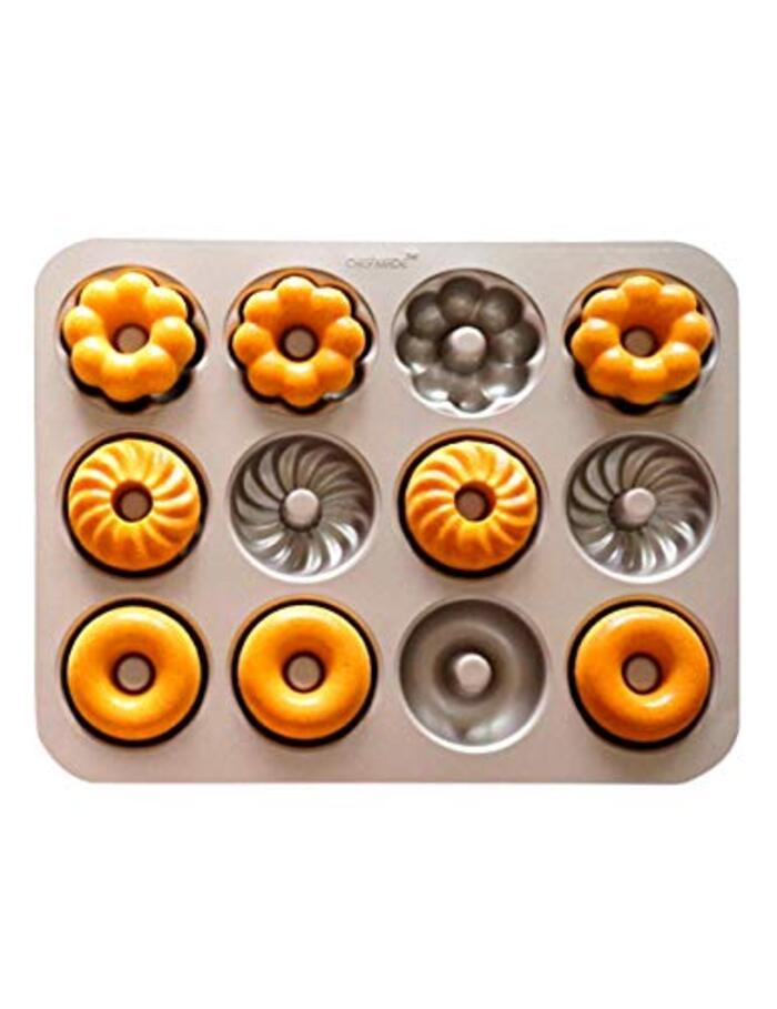 CHEFMADE ドーナツ型 カップケーキ型 12ヶ取