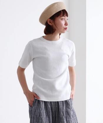 コーデに使える夏の制服。「白T図鑑」で自分に合った一枚を探そう♪