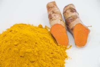 カレーの黄色味を生み出すのが「ターメリック」です。ターメリックは「秋ウコン」のことでもあります。