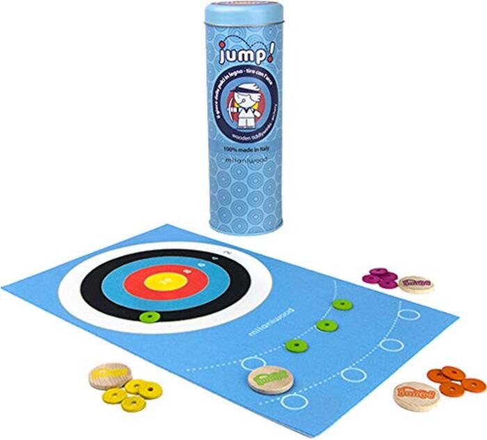 ミラニウッド milaniwood ゲーム ボード 対戦 対象年齢4歳~ JUMP! アーチェリー